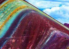 Montaña de los siete colores en Cusco