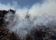 Incendio en Pocsi Arequipa